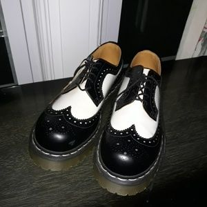 Dr. Martens Black and White oxfords